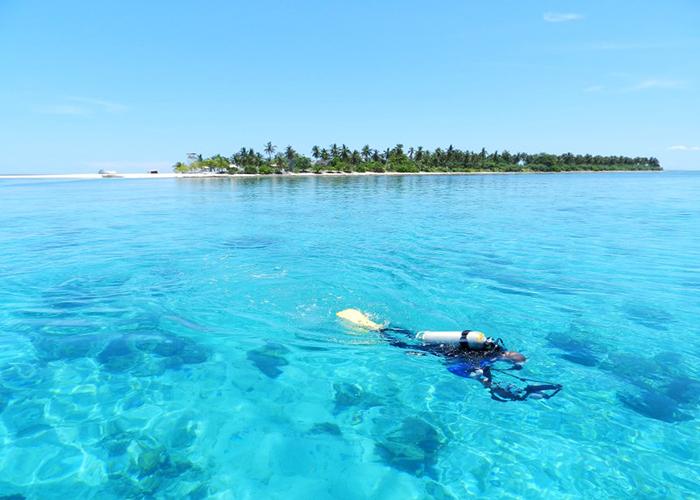 Diving sites